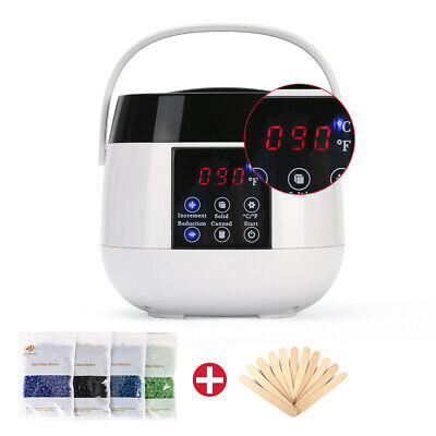 $26.89 • Buy Professional Wax Warmer Waxing Hair Removal Kit Hot Home Heater Machine Device