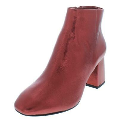 £25.89 • Buy ASH Womens Heroin Red Metallic Ankle Boots Shoes 35 Medium (B,M)  3760