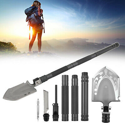 $24.99 • Buy Military Folding Shovel Portable Survival Multi Tool Tactical Entrenching T7