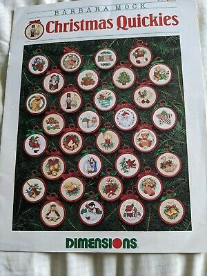 £1.50 • Buy Dimensions  Christmas Quickies  Cross Stitch Booklet