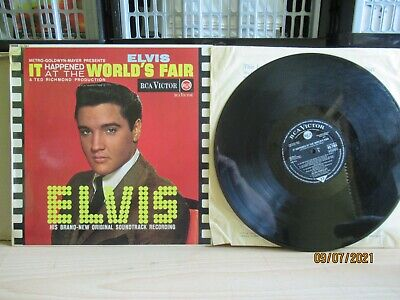£2 • Buy Elvis Presley - It Happened At The Worlds Fair (1963 RCA Victor Silver Seal) LP