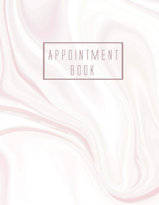 £5.74 • Buy 8 Column Appointment Book For Salons Spas Hair Stylists Daily Hourly Scheduling