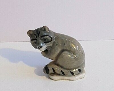 £1.99 • Buy Vintage Wade Whimsie RACOON First Whimsies 1958- 61 CHIPPED