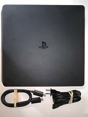 AU324.59 • Buy Sony PS4 Slim 1TB Playstation 4 W/ Cords & Controller- TESTED UPDATED WORKING #2