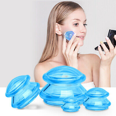 £9.33 • Buy Vacuum Suction Cup Set Anti Cellulite Jar Deep Tissue Facial Cupping Relaxat HB