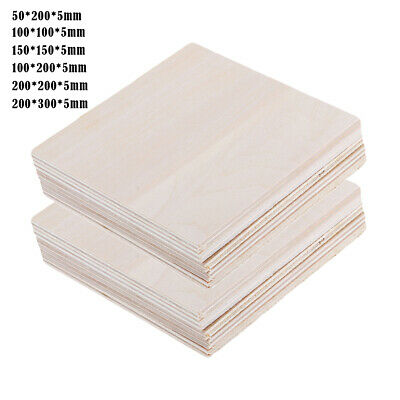 £7.54 • Buy Wood Sheets DIY Building Model Making Materials Projects Supplies