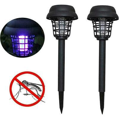 £8.39 • Buy 2pcs Solar Powered Outdoor Mosquito Fly Bug Insect Lamp Killer Zapper Y8F0. L6E4