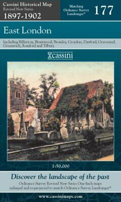 £12.99 • Buy East London (Cassini Revised New Series Historical Map) Sheet Map, Folded Book