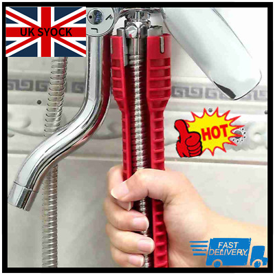 £6.28 • Buy Faucet And Sink Installer Multi Tool Pipe Wrench For Plumbers And Homeowners U K