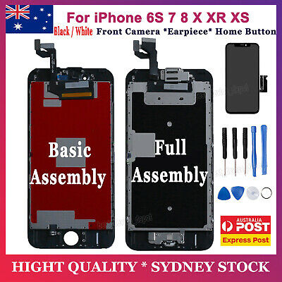 AU32.59 • Buy For IPhone 6S 7 8 XR XS LCD Touch Screen Replacement Digitizer Display Assembly
