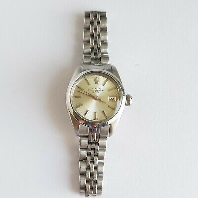$ CDN2703.37 • Buy Rolex Oyster Perpetual Date Automatic Watch Ref. 6919 Cal.2030 Working Well.