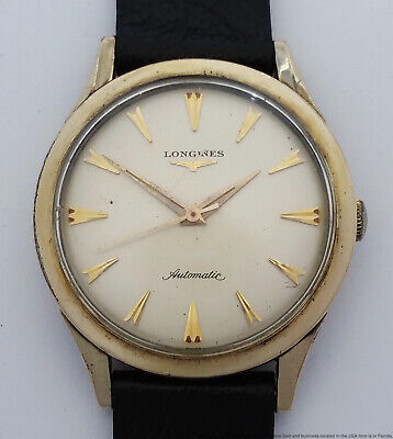 $ CDN25.70 • Buy Vintage Automatic Longines Sweep Seconds 1960s Mens Running Wrist Watch