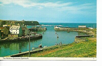 £1.99 • Buy View Of The Harbour Entrance, Eyemouth, Berwickshire, Scotland.