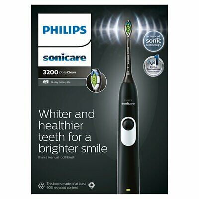 View Details Philips Sonicare 3200 Black Edition Electric Toothbrush  Brand New • 54.99£