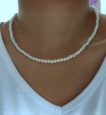£5.75 • Buy Small Bead Choker Necklace Summer Necklace