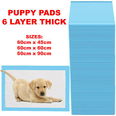 £8.95 • Buy Heavy Duty Large Puppy Pet Training Wee Pee Toilet Pads Pad Floor Mats Dog Cat
