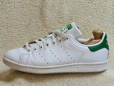 AU9.39 • Buy Adidas Stan Smith Mens Trainers Leather White/Green UK 8 EUR 42 US 8.5