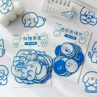 AU2.45 • Buy 40pcs Stickers Pack Paper Lover Stationery Bullet Journal Japanese Diary Gift
