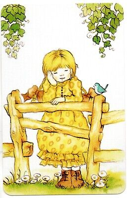 AU4.50 • Buy Swap Card Playing Card  SARAH KAY Cute Girl From The 70s