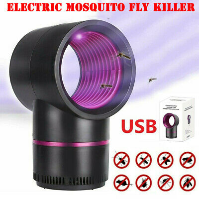 £9.09 • Buy Electric UV Mosquito Killer Lamp Outdoor/Indoor Fly Bug Insect Zapper Trap USB-