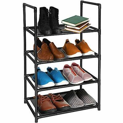 AU39.22 • Buy 4 Tiers Shoe Rack 810 Pairs Sturdy Lightweight Shoe Tower Organizer For Small...