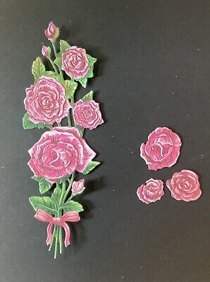 £2.50 • Buy Tattered Lace 3D Flower Bouquet 5 Sets Card Making Toppers Die Cuts