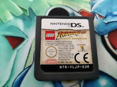 £2 • Buy Nintendo Ds Lego Indiana Jones The Original Adventure Game Only, 3ds 2ds And Ds