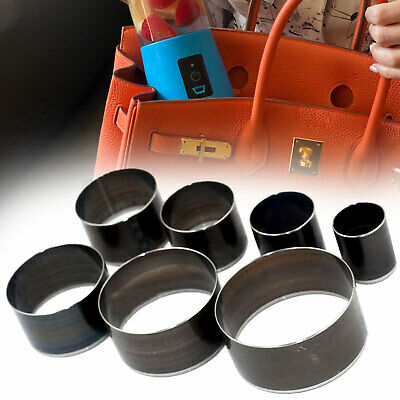 £10.79 • Buy 7pcs Leather Cutter Die Hole Punching Round Cutting Tool Set For DIY Craft Purse