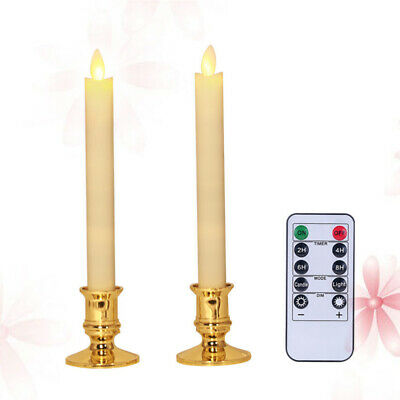 £11.10 • Buy 2pcs Swing Candle Light Flickering Electronic Simulation Candle Light For Hotel