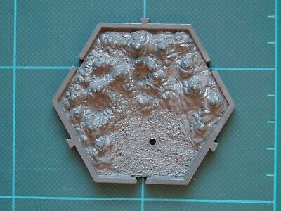 £7.95 • Buy MIGHTY EMPIRES Moutain Hex Tile (B) — Games Workshop Warhammer Fantasy Expansion