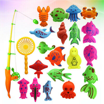 £5.92 • Buy 22PCS Fishing Toy Educational Colorful Fishing Game For Toddlers Children