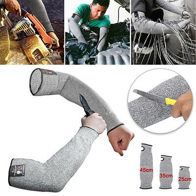 £7.39 • Buy 1 Pair Safety Protective Arm Sleeve Guard Cut Proof Anti Cut-Resistant Glove ...