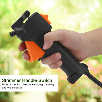£6.59 • Buy Strimmer/Trimmer Brush Cutter Tube Handle Switch Throttle Trigger Cable UK Store