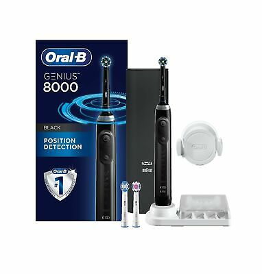 AU281.19 • Buy Oral-B Genius 8000 Electric Electric Toothbrush With Bluetooth Connectivity, ...