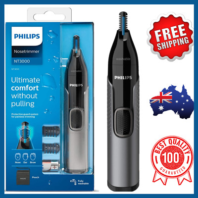 AU30.50 • Buy Philips Series 3000 Nose Ear Eyebrow Hair Trimmer Shaver/Comb Washable NT3650/16