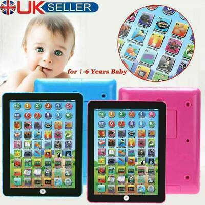 £8.98 • Buy Baby Tablet Educational Toys Girls Toy For 1 2 Year Old Toddler Learning English