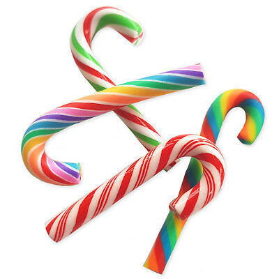 £2.19 • Buy 6pcs Christmas Faux Candy Swirl Cane Sweets Kawaii Decoden Craft Embellishments