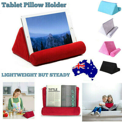 AU13.65 • Buy Portable Tablet Pillow Holder Support Sofa For IPad Reading Book Rest Stands AU