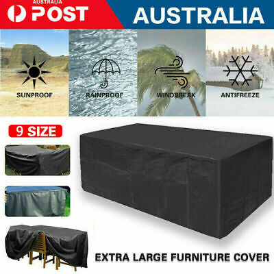 AU15 • Buy Outdoor Waterproof Furniture Cover Patio Garden Rain Snow UV Table Sofa Couch