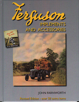 AU25.65 • Buy Book:  FERGUSON TRACTOR IMPLEMENTS AND ACCESSORIES