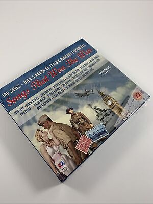 £10.99 • Buy Songs That Won The War 4 CD Set 100 Songs Classic Wartime Favorites ABC Classics