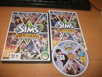 £4.65 • Buy The SIMS 3 AMBITIONS  - PC DVD ROM - FREE POST