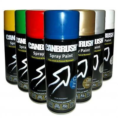 £7.79 • Buy Canbrush Spray Paint For Metal Plastic And Wood 400ml High Quality Premium