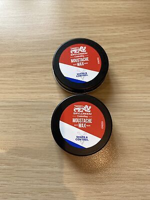 £4.50 • Buy 2 X Brylcreem Controlling Moustache Wax - New - Free P&P