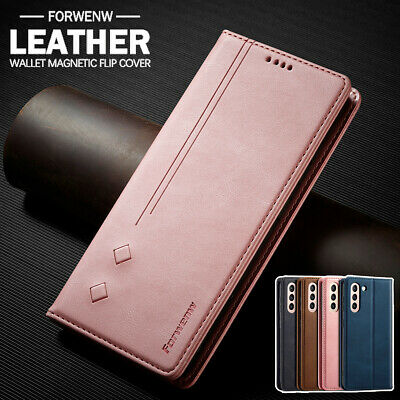 AU13.99 • Buy For Samsung S21 S20 FE Ultra S10 9 8 Plus Note 20 Case Leather Wallet Flip Cover