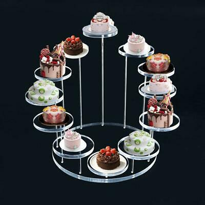 £6.69 • Buy Acrylic Cupcake Stand Jewelry Cake Dessert Display Stand Rack Party Holder Decor