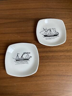 £18 • Buy Set Of Two Midwinter Paddle Steamer Dishes Designed By Terence Conran