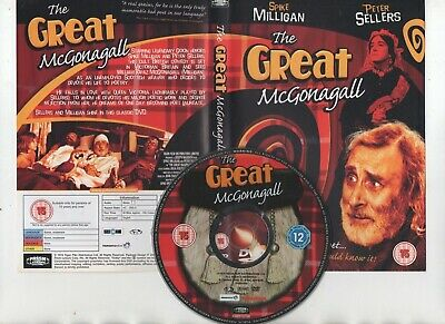 £3.35 • Buy THE GREAT McGONAGALL ~SPIKE MILLIGAN / PETER SELLERS~ DVD *FREE P&P*