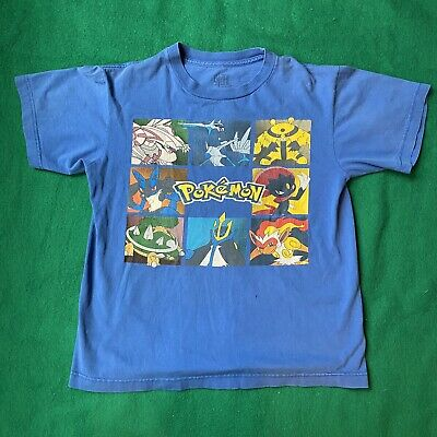 $25 • Buy POKEMON Group Graphic T-SHIRT Youth  XL Giant Tag