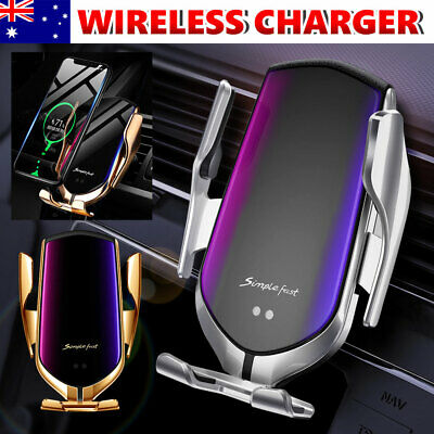 AU17.85 • Buy 15W QI Magnetic Wireless Car Charger Air Vent Mount Holder For IPhone 12 Pro Max